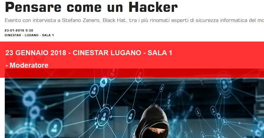 Pensare come un Hacker