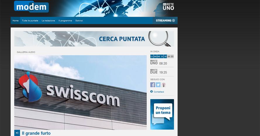 Il caso Swisscom