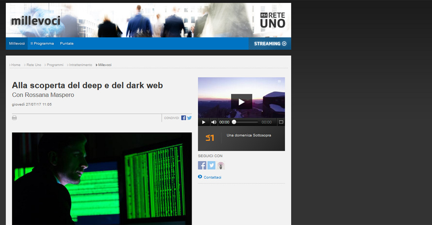 Deep e Dark Web, la differenza