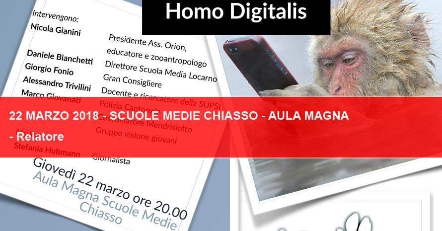 Homo Digitalis – Associazione Orion