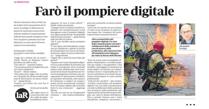 Farò il pompiere digitale