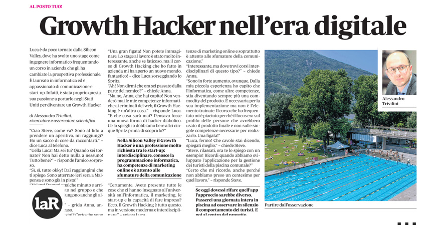 Growth Hacker nell'era digitale