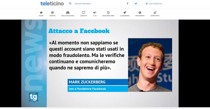 attacco a facebook zuckerberg